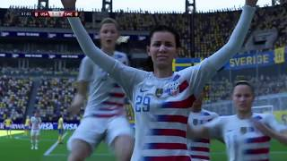 Fifa 19 - USA vs Sweden - Kim Hunter Goal 57th Minute