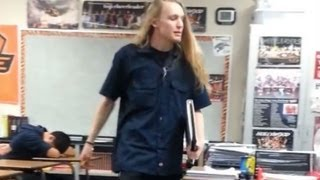Fed-Up Student Schools Teacher, Demands Better Education (Video)