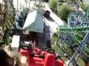 Parque de la Costa: montaña rusa roja Boomerang