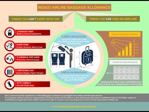 Indigo Baggage Allowance