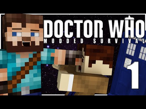 Minecraft | Doctor Who Modded Survival | Ep.1 - The New Doctor in Town
