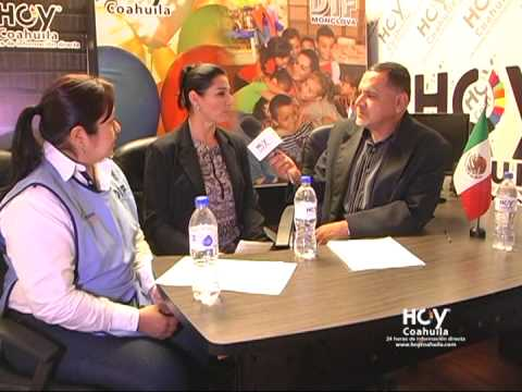 HOY COAHUILA. Entrevista a Presidenta del DIF Monclova Lic. Ana Patricia Esquivel Ibarra.