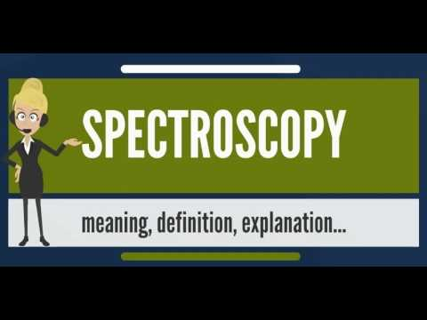 Download What is SPECTROSCOPY? What does SPECTROSCOPY mean? SPECTROSCOPY meaning, definition & explanation HD Mp4 3GP Video and MP3