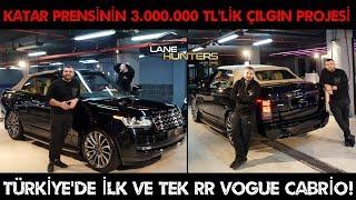 77/5000 Convertible Range Rover Vogue V8 5.0 SuperCharger | 3.000.000 TL Crazy Project!