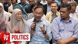 Anwar: PKR retreat a success, despite Azmin's absence