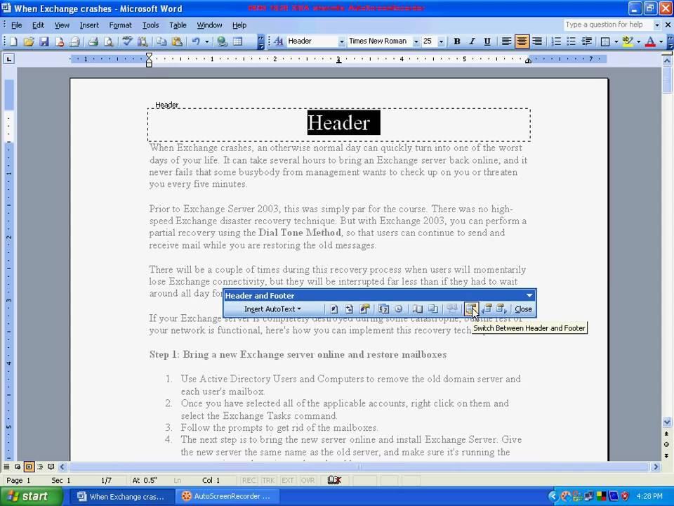 How to Add and Format Slide Numbers Headers and Footers