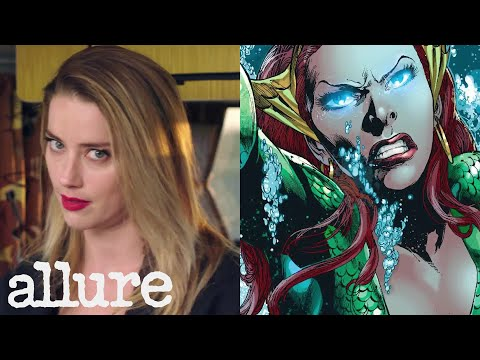 Justice League's Amber Heard Explains the Women Superheroes of DC Comics | Allure