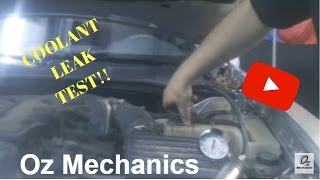 Video contest: How to find coolant leaks. THE EASY WAY!!!!!!