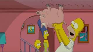 The Simpsons Movie: Spider Pig (in Lithuanian)