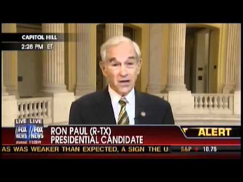 Ron Paul on FOX News: On Current Poll #'s and Assasination Rights