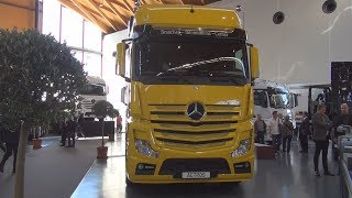 Mercedes-Benz Actros 1851 4x2 Tractor Truck (2016) Exterior and Interior