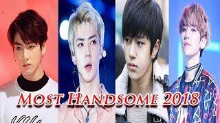 Top 10 K Pop Most Handsome 2018
