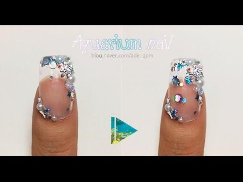 Water Globe Nails Nail Water Globe Nails