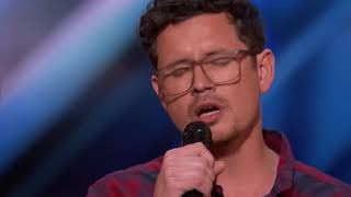 Michael Ketterer  Father Of 6 Scores Golden Buzzer From Simon Cowell   America's Got Talent 2018