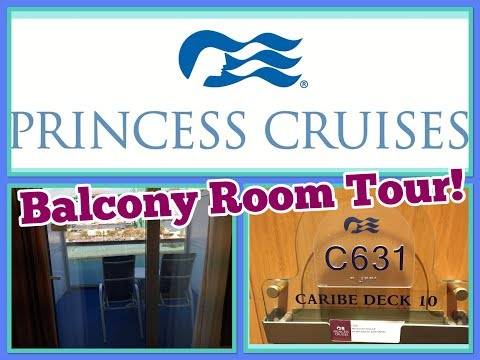Crown Princess Balcony Room Tour! Cruise Ship Travel Vlog!