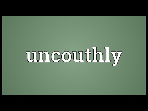 Header of uncouthly