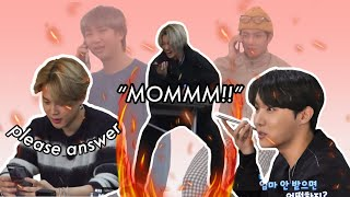 """Download lagu BTS calling their parents on camera and vice versa ft.Hobi's sister   """"mom, dad, please help!"""""""