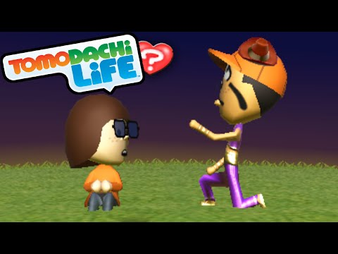 Tomodachi Life: Goofy Proposes! Wedding Marriage Mii Homes Gameplay Walkthrough PART 21 Nintendo 3DS