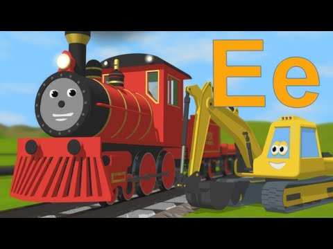 Limba engleza pentru copii - Sa invatam despre litera E