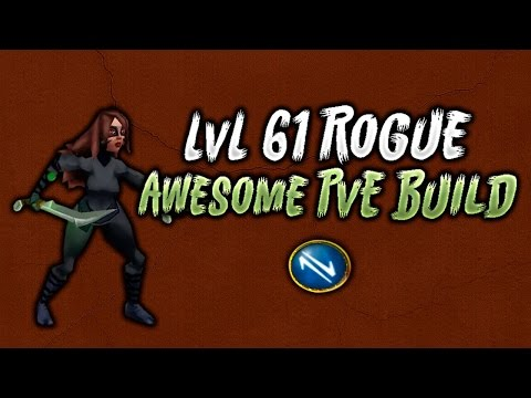 Arcane Legends - L61 Rogue PvE - Build & Gear
