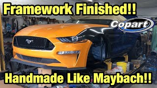 Rebuilding My Totaled Wrecked 2018 Ford Mustang GT From Copart