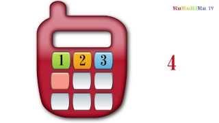 Учим цифры от 1 до 9 - учимся считать. Развивающий мультик