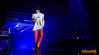Michael Jackson - The way you make me feel - This is it - HD