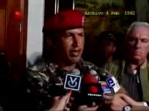 Hugo Chavez 4 de Febrero 1992