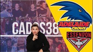 Adelaide vs Essendon Round 18 AFL Live Stream 2019
