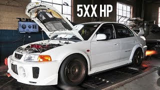 Breaking 500AWHP with my Evo 5!