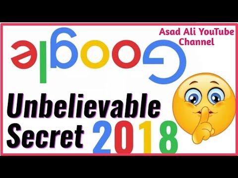 Google Unbelievable  Secret In 2018 (Asad Ali YouTube Channel) In Urdu