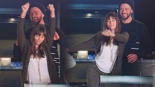 Download Lagu Justin Timberlake & Jessica Biel Dance Together at Lakers Game Gratis STAFABAND