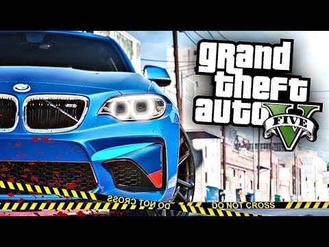 РЕАЛЬНАЯ ЖИЗНЬ В GTA 5 - Я СПАЛИЛСЯ НА УГОНЕ перед МЕНТОМ РАДИ BMW М2!!!🔥