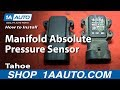 How To Install Replace Manifold Absolute Pressure Sensor MAP 1996-99 Tahoe 5.7L