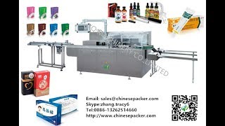 automatic sachets cartoning machine 10 bags boxing machinery Tray Injection Condom Soap cartoner