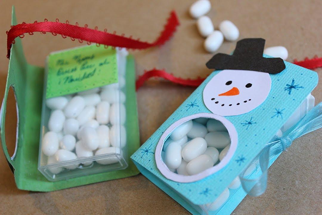 Dulce detalle y mini tarjeta de tictac para navidad youtube - Cosas hechas a mano para vender ...