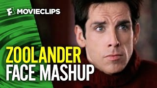 The Many Faces of Zoolander Mashup (2016) HD