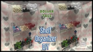Dollar tree craft room organizer ideas / dollar store bead organizer / jewelry/ glitter / paint diy