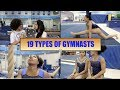 19 DIFFERENT TYPES OF GYMNASTS