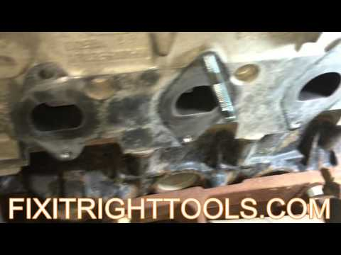 2004-2009 F150 Exhaust Manifold Replace Instruction Video / Broken Stud Removal Tool