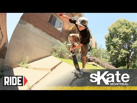 SKATE Montreal with Barry Walsh