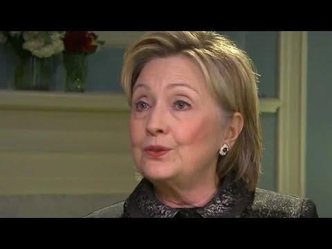 Hillary Clinton: I'm not the presumptive nominee yet
