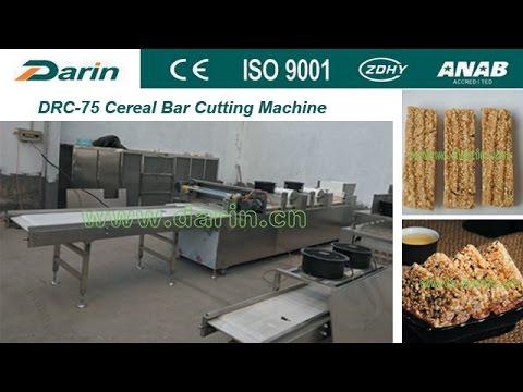 Sesame Candy Bar Making Machine - In Algeria Client's Factory