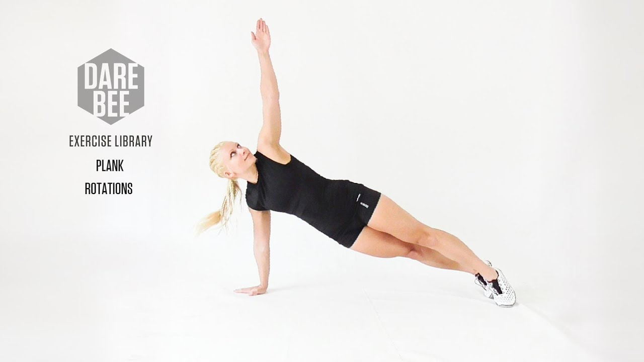 Side Plank Rotations Library Plank Rotations