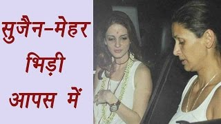 download lagu Hrithik Roshan's Ex Wife Sussanne Khan Fights  Mehr gratis