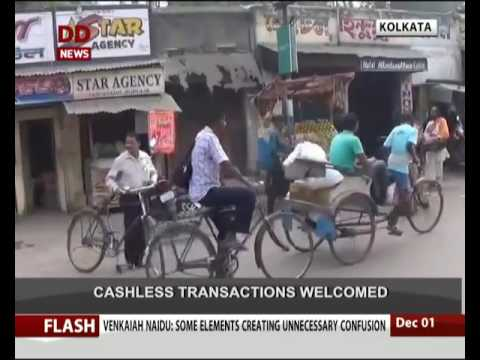 People of Purulia district welcome cashless transactions