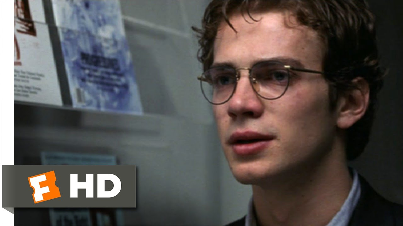 shattered glass movie essay In shattered glass, hayden christensen wears owlish glasses, powder blue shirts, and a haircut that makes him look like the yet the movie.