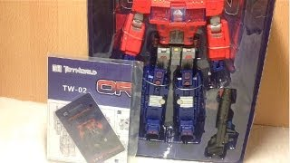 Unboxing Toy World TW 02 Orion