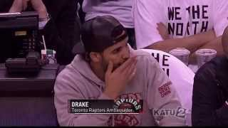 ESPN's Mike Tirico raps like Drake and immediately regrets it: Nets at Raptors, Game 7