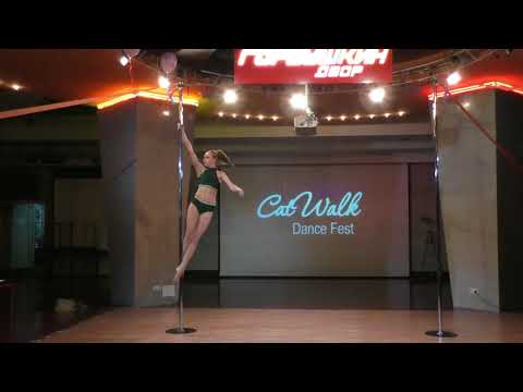 Кристина Евпланова - Catwalk Dance Fest IX[pole dance, aerial]  12.05.18.